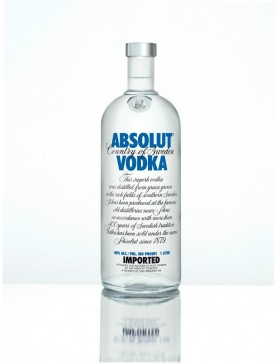 Absolut Vodka 70cl.