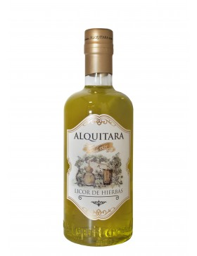 Liquor of Grasses Alquitara 70cl.