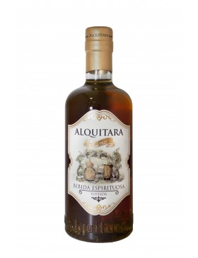 Brown liquor Alquitara 70cl.